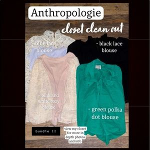 SALE - Anthropologie closet clean out!